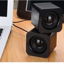 Модный динамик HD ноутбук портативный USB2.0 мультимедийный динамик мини настольный компьютер маленький динамик-15
