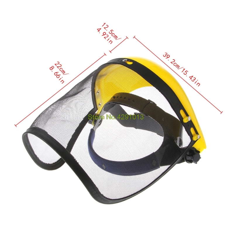 Face Shield Mesh Visor Browguard Ideal For Brushcutter Trimmer Strimmer Shield Drop Shipping Support
