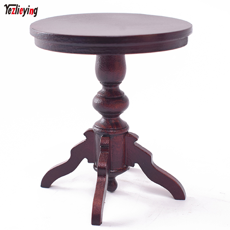 Toys & Hobbies Model 1/6 Scale Soldier Accessories Scene Wooden Biedermeier Round Table 4 legs PR019 Ultralight Fit 12 Figure