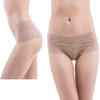 Women Ladies Nylon Sexy Lace Skirt Panties Fashion T Back Underwear Sexy Thongs 2 Pcs With
