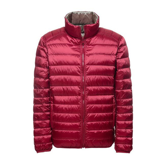 Sided wear Casual Ultralight Mens Duck Down Jackets Autumn & Winter Jacket Men Lightweight Duck Down Jacket Men Overcoats