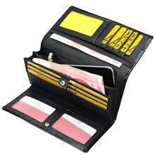 Женский кошелек в три сложения из натуральной кожи женский клатч