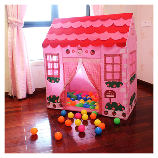 Playhouse Girl City House Kids Secret Garden Pink Play Tent Great Gift : girl play tent - memphite.com