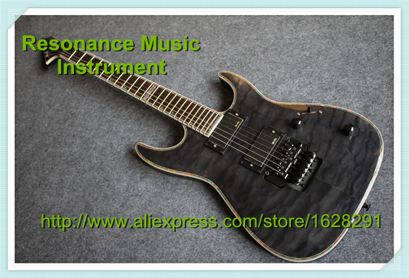 High Quality ESP LTD Electric Guitars Chinese Black Hardware and Floyd Rose Tremolo Left Handed Available chinese oem classical black beauty p 90 style pickup lp custom guitars electric left handed available
