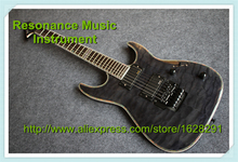 High Quality ESP LTD Electric Guitars Chinese Black Hardware and Floyd Rose Tremolo Left Handed Available(China)