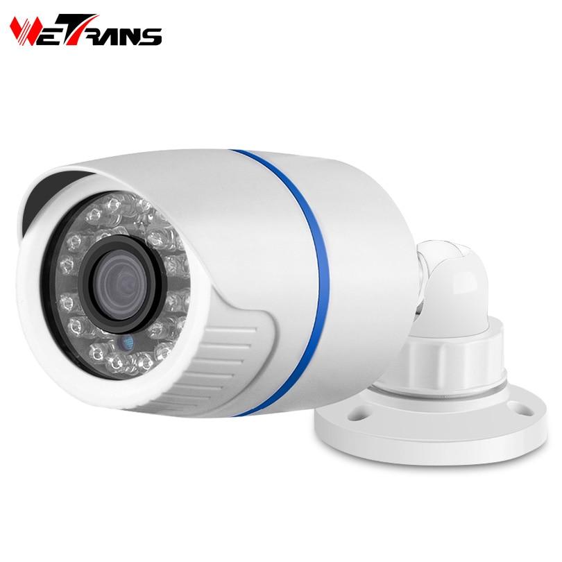 Wetrans IP Camera POE Outdoor 1080P HD Waterproof Bullet Home Security CCTV Camera Onvif P2P Surveillance