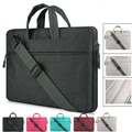 New Canvas Laptop Briefcase Liner Sleeve Bag Case for Macbook Air Pro Pouch Bag for HP Samsung Lenovo Asus Xiaomi Air
