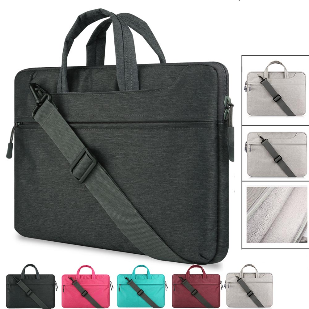 Shockproof 15.6 inch Laptop Briefcase Liner Sleeve Bag Case for Macbook Air Pro Pouch Bag for HP Samsung Lenovo Asus Xiaomi Air
