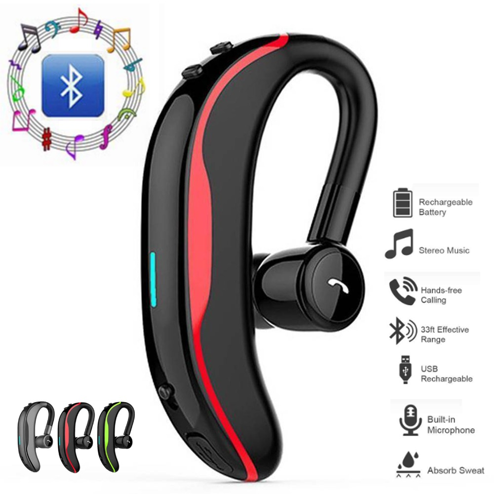 Bluetooth Headphone For Apple Iphone X 9 Plus 8 7 6 Noise Cancelling Earbud Bluetooth Earphone For Smart Phone Samsung S9 Note Bluetooth Earphones Headphones Aliexpress