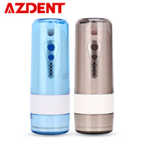 4 Modes Portable Fold Oral Irrigator Collapsible Water Dental Flosser USB Rechargeable Nose Clean Nasal Wash 200ml and 5 Jet Tip