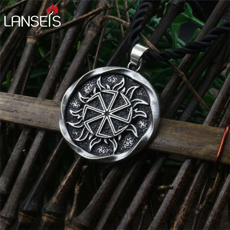 1pcs Alatyr Star Slavic Jewelry Sun Symbol Amulet Pendant ...