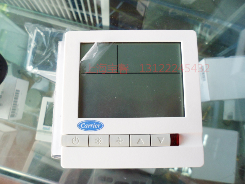 Carrier lcd thermostat temperature controlled switch temperature controller air conditioning panel tms710sa 30 80 degree adjusting temperature controller capillary thermostat