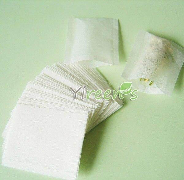 Us 5 99 1000pcs 50 X 60mm Empty Tea Bags Heat Sealing Filters Food Grade Filter Paper Bag Herb Plant E Medicine Powder In