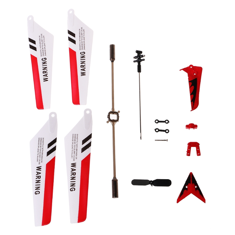 Colorful Syma S107G S107 RC Helicopter Spare Parts Main Blades, Tails, Props, Balance Bar, Shaft, Replacement Gear Accessories