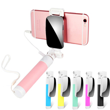 Selfie Stick Mirror Monopod Universal for IPhone Android Samsung Selfiestick