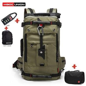 MAGIC UNION New Oxford Backpack 20 Inch Laptop Bag Set Men Waterproof Travel Rucksack Female Mountaineering Shoulder Bag mochila