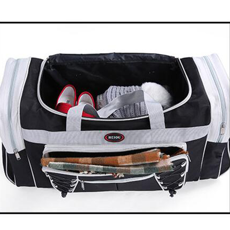 6719ed3173 Oversized Man Travel Bags Polyester Weekendtas Fashion Luggage Packing  Cubes Bag Weekender Traveling Duffle Bag Men X084-in Travel Bags from  Luggage   Bags ...