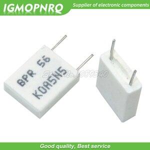 Image 2 - 100pcs BPR56 5W  0.1R 0.15R 0.22R 0.25R 0.33R 0.5R Non inductive Ceramic Cement Resistor 0.1 0.15 0.22 0.25 0.33 0.5 ohm