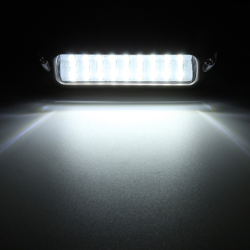 Image 5 - 27LED Stainless Steel Underwater Light 12V Marine Boat Yacht Light Waterproof Lamp-in Marine Hardware from Automobiles & Motorcycles