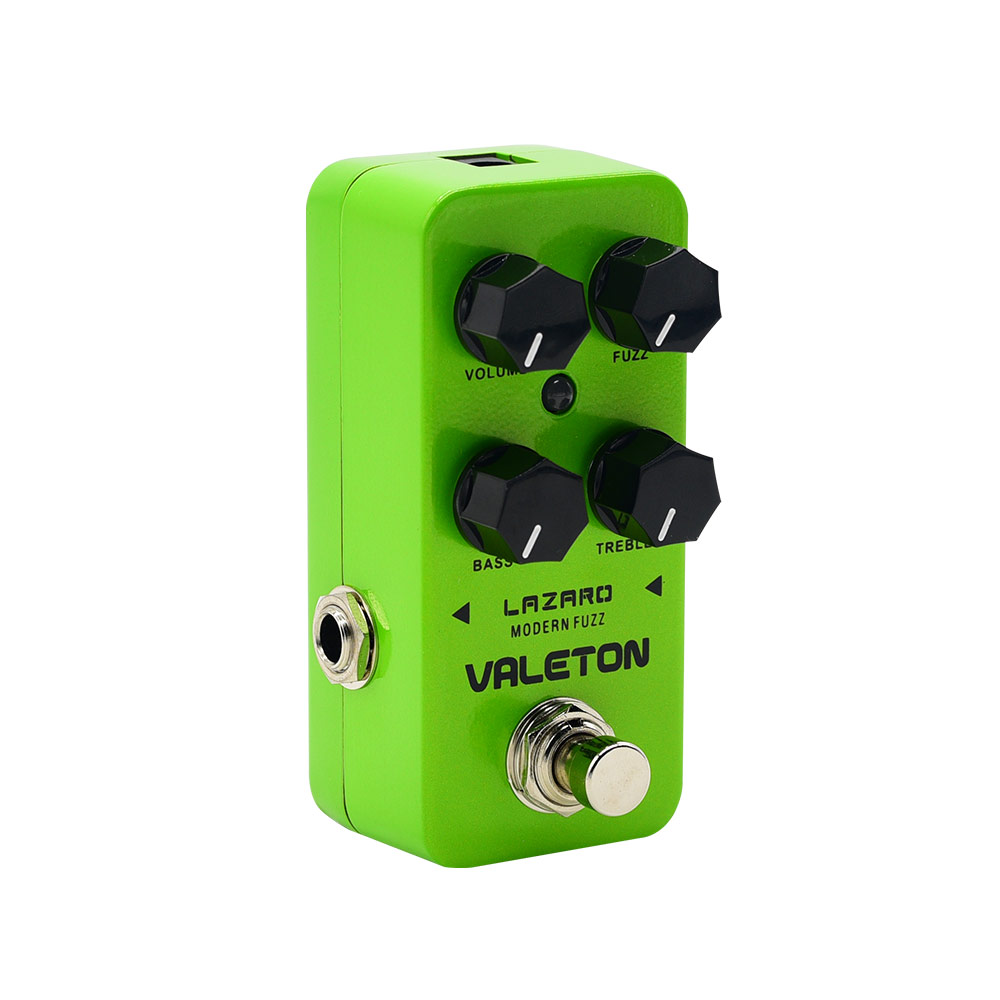 Valeton Coral Series Lazaro Modern Fuzz Bass Electric Guitar Effect Pedal True Bypass Low Noise Analog Signal Path CFZ-2 moc 1128pcs the batman movie bane s nuclear boom truck super heroes building blocks bricks kids toys gifts not include minifig