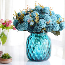 Beautiful European Artificial Simulation Silk Flowers Bouquet 10 heads Home Decoration Party Wedding Decal HHY0