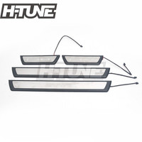 Car styling Stainless Steel Scuff Plate Door Sill Welcome LED Pedal Threshold for C HR CHR 2016 2017 2018