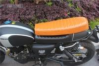 CAFE RACER SEAT HUMP MASH RETRO LOCOMOTIVE CUSHION SADDLE 64cm Racer Seat selle cafe racer Seat motorcycle SEAT asiento moto