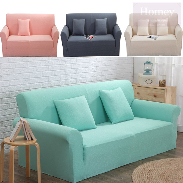 Sofa Cover Stretch Jacquard Thincken Corner Couch Modern Comfortable  Sectional Leather Slipcovers Universal L Shaped Sofa