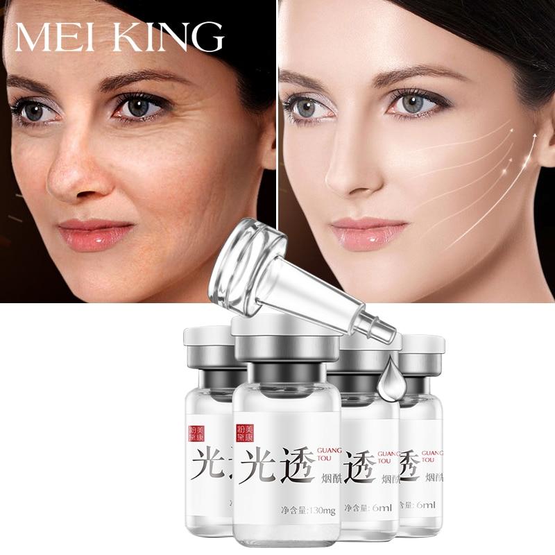 MEIKING 4pcs Nicotinamide Whitening Serum Brighten Skin Essence Fade Dark Spots Freckle Antiaging Repair Moisturizing Face Cream