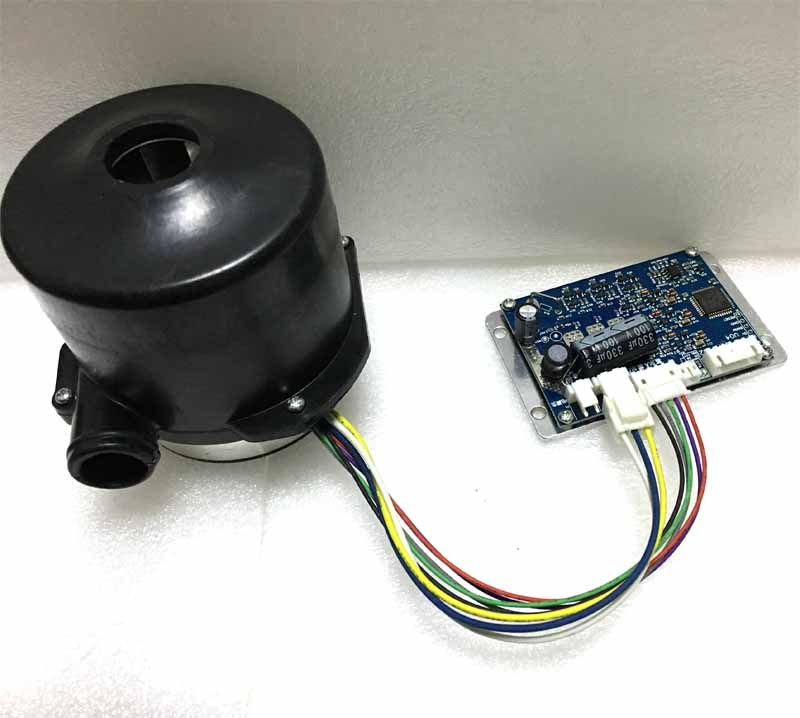 24V 160W Brushless DC Vacuum Cleaner Centrifugal Air blower dc fan seeder blower Dc blower motor Air pump with matched driver brushless motor driver 24v 200w bldc motor driver controller for 180w dc dc fan or motor 7 15a