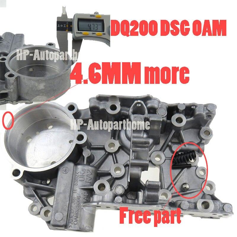 Prix inférieur épais 4.6MM DSG DQ200 0AM 0AM325066AE 0AM325066R accumuler le logement pour Audi Skoda 7 vitesse 0AM325066AC 0AM325066C