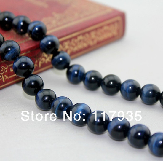 Wholesale 4-14mm ungrade top quality Natural Blue Tiger eye Beads round ball Beads one strand beads jewelry making tiger 3d round one blue 3d ручка