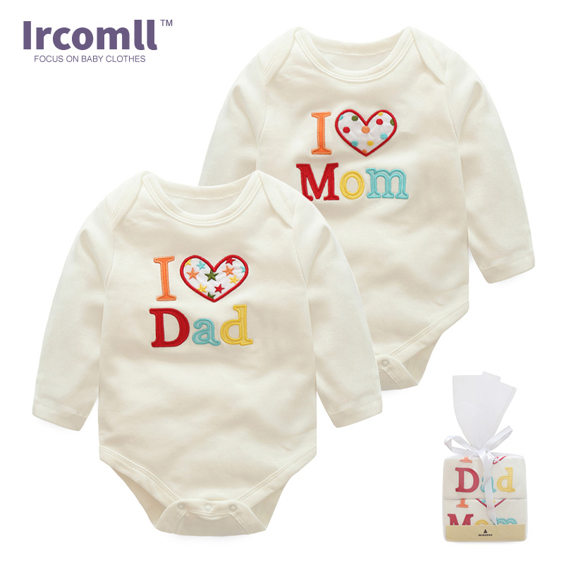 bebe the same style 2PCS Brands Newborn Baby Rompe 100% Cotton Long Sleeve White Baby Body suit Toddler Clothes For Girl Boy