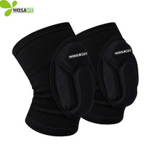 WOSAWE Football Volleyball Extreme Sports Elbow pads & knee brace support Protect Cycling Knee Protector Kneepad