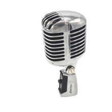 KSOAQP Metal Shell Body for 55SH II Professional Dynamic Microphone Vocal Classical Vintage Style Microfone 55 SH Series II
