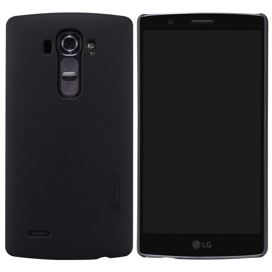 For LG G4 /H810/H815/H818/VS999/F500 Case, Nillkin Black Hard Matte Skin Shell Cover Case For LG G4 (G 4) Gift Screen Protector