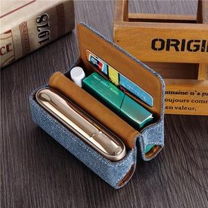 Image 2 - JINXINGCHENG 패션 새로운 Filp 지갑 파우치 케이스 IQOS 3 케이스 커버 IQOS 3.0 보호 액세서리