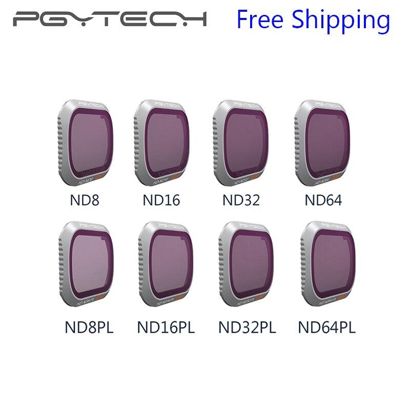 4 шт. PGYTECH Mavic 2 про фильтр ND8/16/32/64-PL ND8/16/32/64 Камера объектив для работы с файлами DJI Мавик 2 Pro продвинутые аксессуары