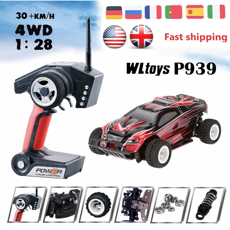 wltoys buggy car p939 24g rc car 128 high speed