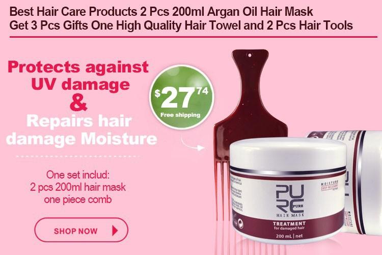 2 sets hair mask