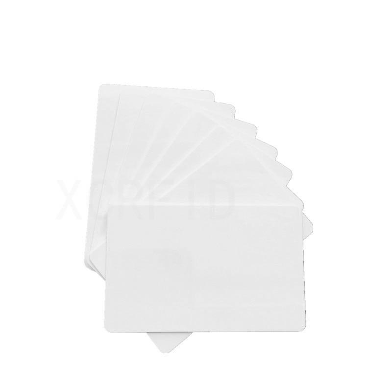 200PCS / PACK  S50 MF1 Classic 1K  White PVC Inkjet Printable Card Double Side Printing For All Inkjet Printers 200pcs lot premium blank white pvc inkjet printable card no chip double side printing for all inkjet printers
