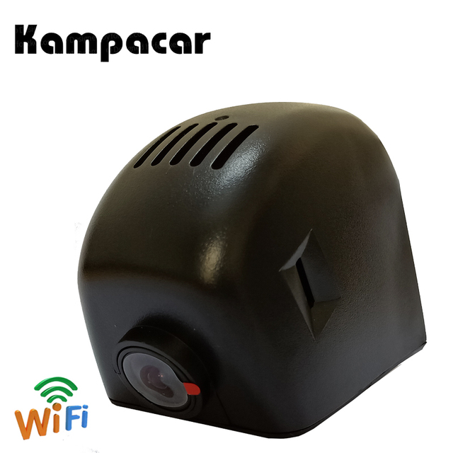 Kampacar Car Wifi DVR Dash Camera For Audi Q3 Q5 Q7 A3 8P A4 B8 B7 B6 A5 A6 2006 2007 2008 2009 2010 2011 2013 Black HD Car Dvrs