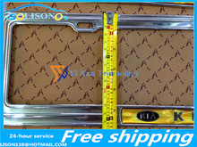 For Kia K5 stainless steel license plate frame special care refit Free Shipping