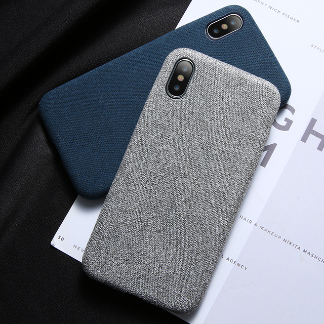 cheap for discount 040e6 46f7a US $1.89 30% OFF|KISSCASE Cloth Case For iPhone 6 6S 7 8 Plus X XS Max XR  Ultra Thin Soft Phone Cover Cases For iPhone 8 7 6S 6 Plus Accessories -in  ...