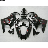 Motorcycle Fairing Kits Bodywork for 1997 1998 Honda CBR600 F3 (All Black, Full Fairing Set Included)