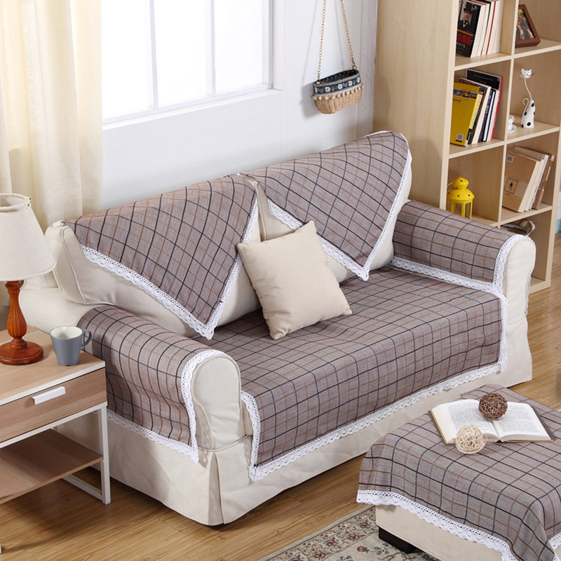 online get cheap plaid sectional sofa. Black Bedroom Furniture Sets. Home Design Ideas