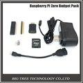 Raspberry Pi Нулевой Бюджет Упаковке-8 ГБ Class 10 SD Card + 2 х 20 Мужской заголовок газа и 5 В 2A блок питания для Raspberry Pi Нулевой