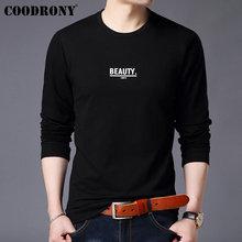 COODRONY Mens Hoodies 2019 New Arrivals Streetwear Sweatshirt Men Fashion Letter Print Sweatshirts Men Pullover Hoodie Men 94005