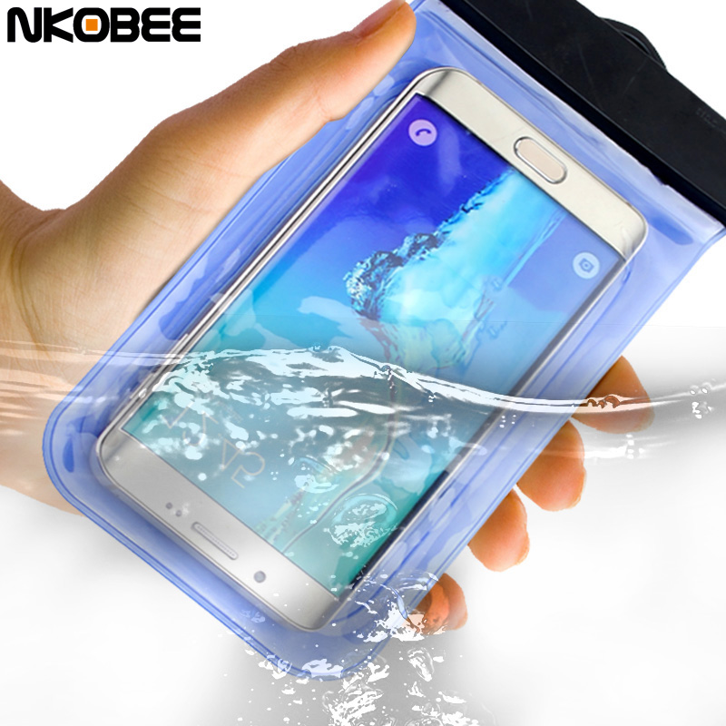 For Xiaomi Redmi 4 Pro Case Samsung Galaxy J3 Case For Honor 8 Case 6 inch Universal Waterproof Diving PVC Bag Pouch