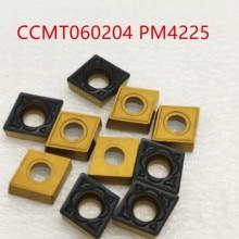 цена на tungsten carbide CCMT060204 PM4225 CCMT060208 PM 4225 Internal Turning Tool ccmt 060204 Carbide insert Lathe Tool turning insert